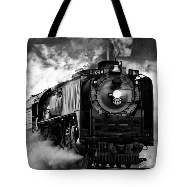 Up 844 Steaming It Up Tote Bag by Bill Kesler