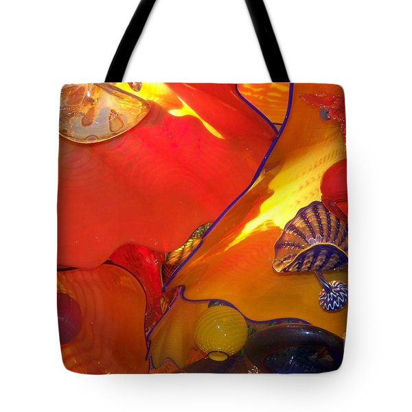 Up Above Tote Bag by Eunice Miller