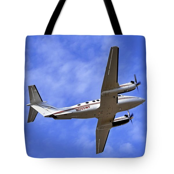 Up And Away Tote Bag by Jason Politte
