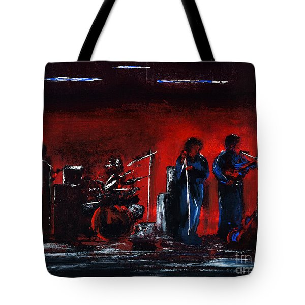 Up On The Stage Tote Bag by Alys Caviness-Gober