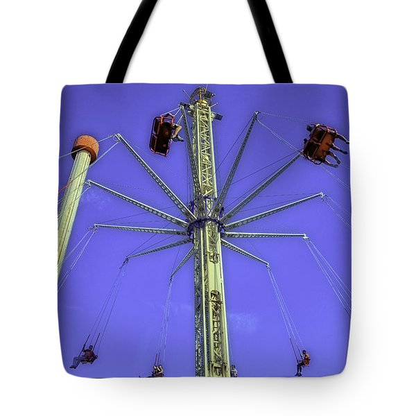 Up Up And Away 2013 - Coney Island - Brooklyn - New York Tote Bag by Madeline Ellis