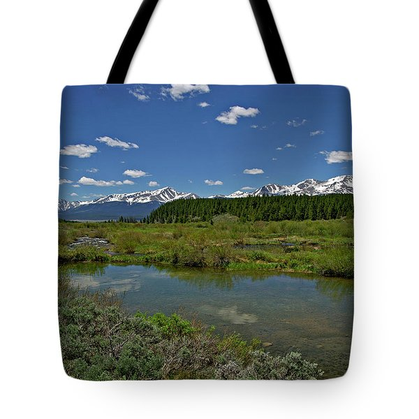 Upper Management Tote Bag by Jeremy Rhoades