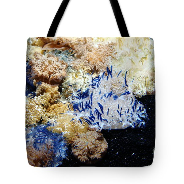 Upside Down Jelly Fish 5D24947 Tote Bag by Wingsdomain Art and Photography