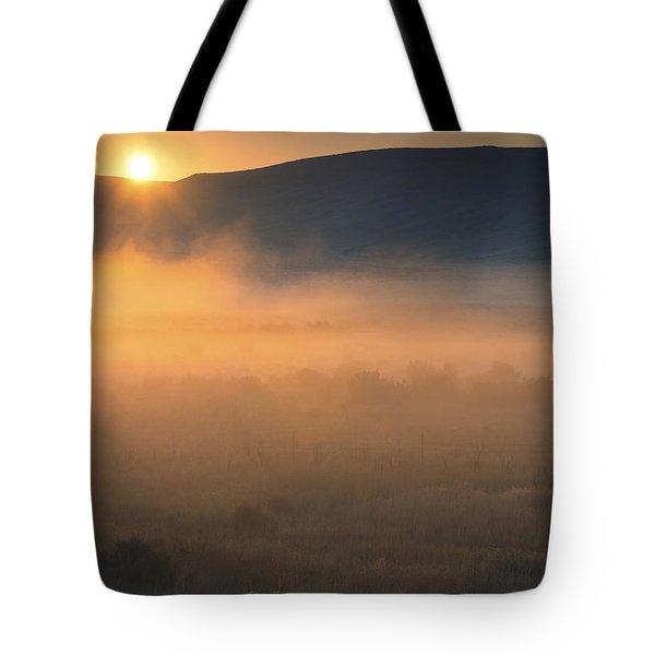 Uptanum Dawning Tote Bag by Mike  Dawson