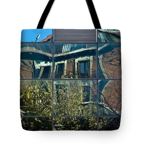Urban Reflections Madrid Tote Bag by Frank Tschakert