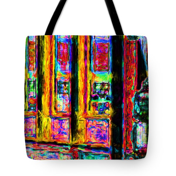 Urban Sprawl - 7D14097 Tote Bag by Wingsdomain Art and Photography