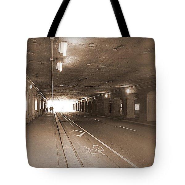 Urban Tunnel Tote Bag by Valentino Visentini