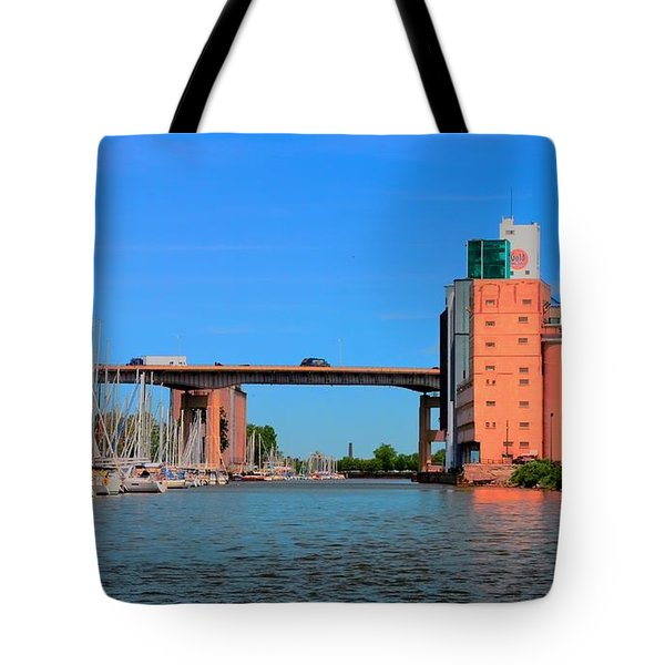 Urban View Tote Bag by Kathleen Struckle