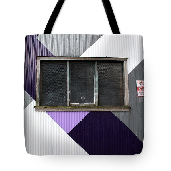Urban Window- Photography Tote Bag by Linda Woods