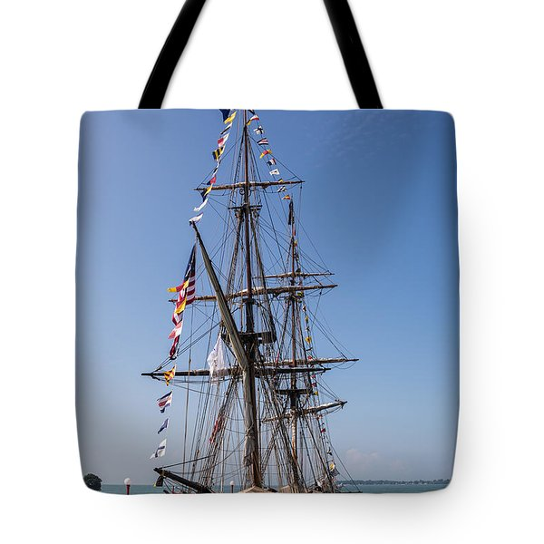 U.S. Brig Niagara Tote Bag by Dale Kincaid