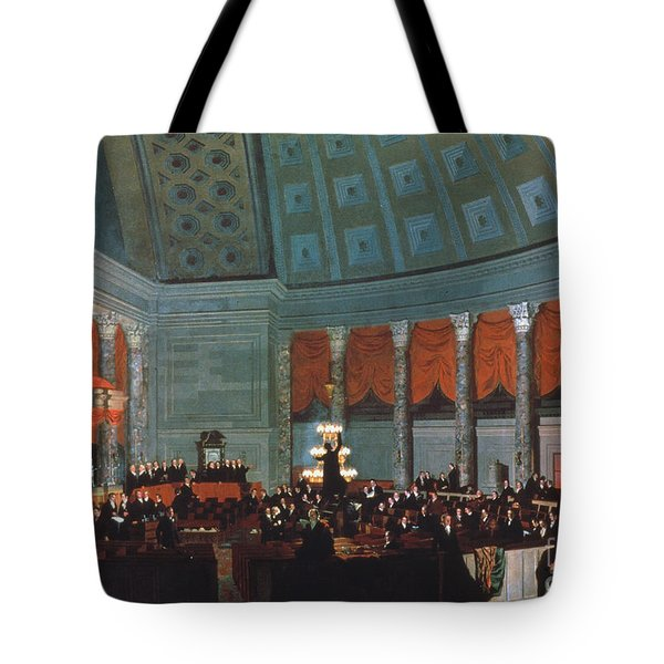 U.s. Congress - House Tote Bag by Granger