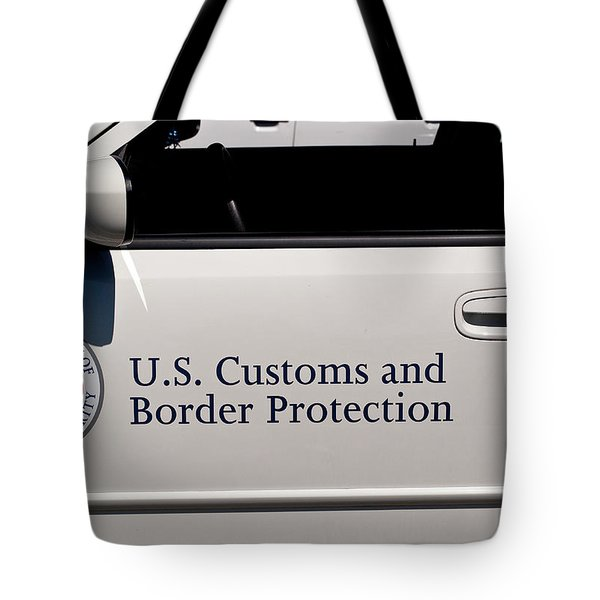 U.S. Customs and Border Protection Tote Bag by Roger Reeves  and Terrie Heslop