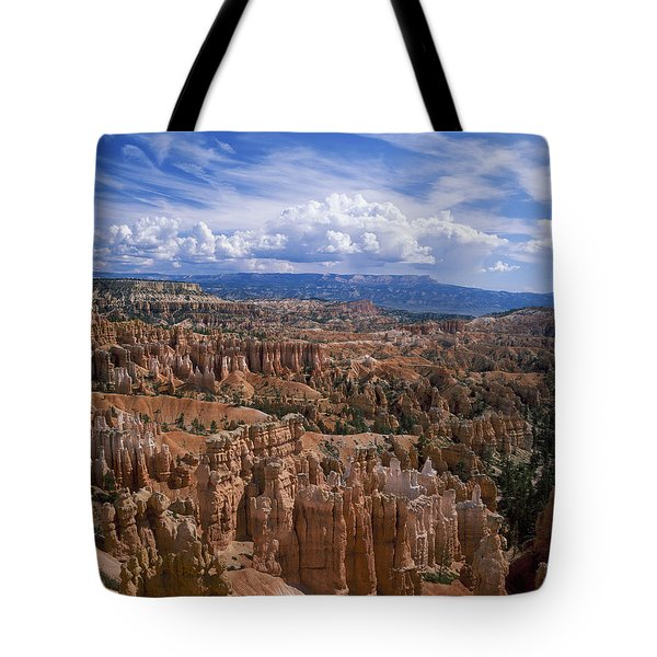Usa, Utah, Bryce Canyon National Park Tote Bag by Tips Images