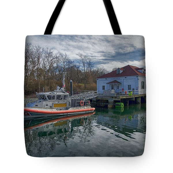 Usgs Castle Hill Station Tote Bag by Joan Carroll