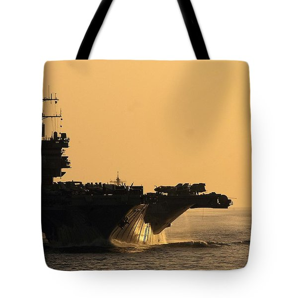 Uss Enterprise Tote Bag by Mountain Dreams