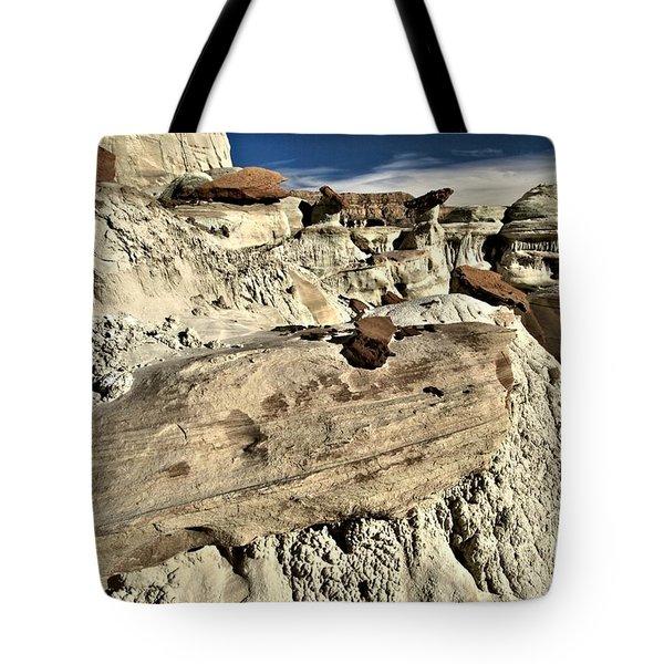 Utah Erosion Tote Bag by Adam Jewell