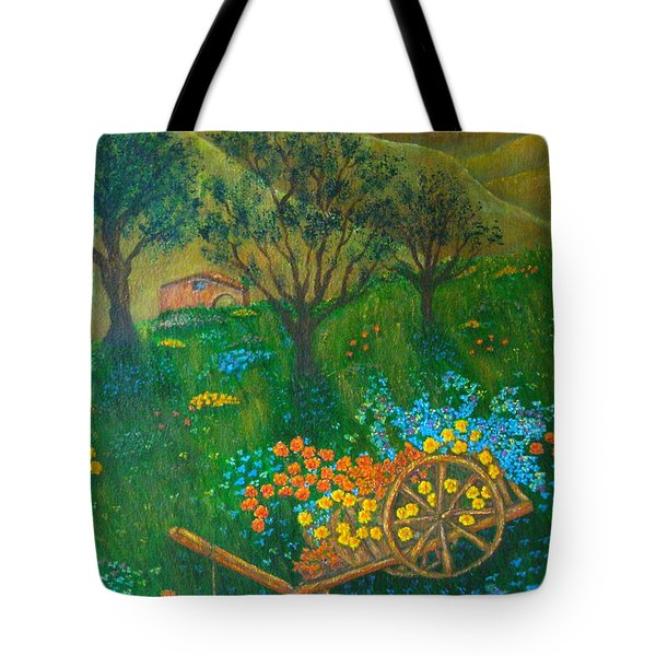 Val D'Orcia Tote Bag by Pamela Allegretto