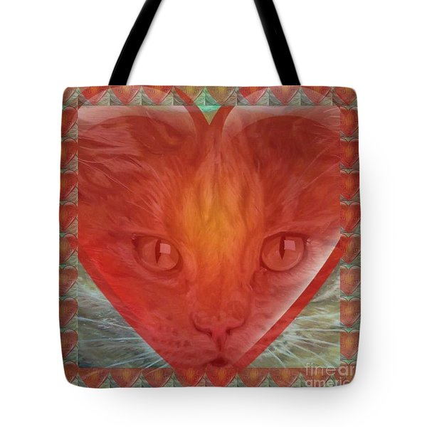 Valentine Gallery Number 3 Tote Bag by PainterArtist FIN and Maestro