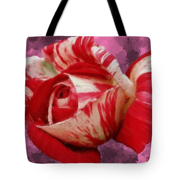 Valentine's Day Rose Tote Bag by Bruce Nutting