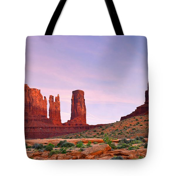 Valley of the Gods - A oasis for the soul Tote Bag by Christine Till