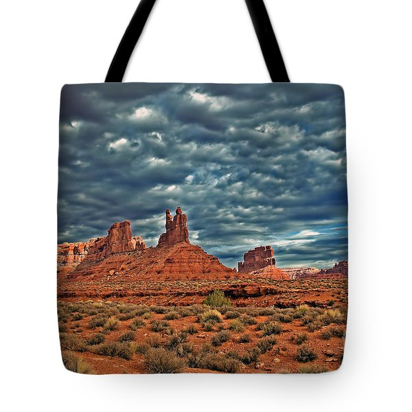 Valley Of The Gods Tote Bag by Robert Bales