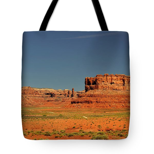 Valley Of The Gods - See What The Gods See Tote Bag by Christine Till