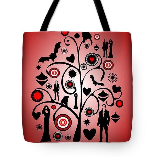 Vampire Art Tote Bag by Anastasiya Malakhova