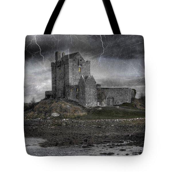 Vampire Castle Tote Bag by Juli Scalzi