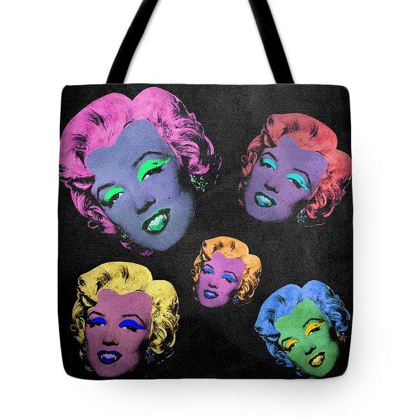 Vampire Marilyn 5b Tote Bag by Filippo B