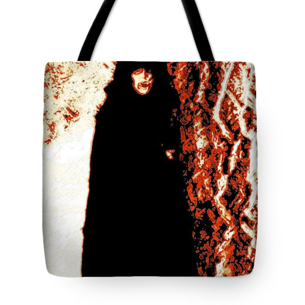 Vampire Red Tote Bag by First Star Art