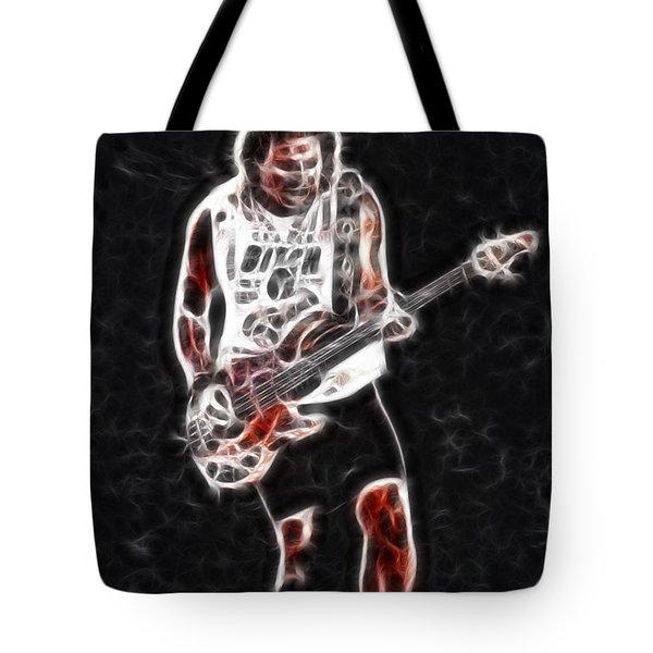 Van Halen-93-mike-gc23-fractal Tote Bag by Gary Gingrich Galleries