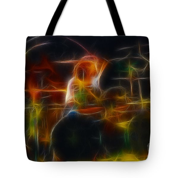 Van Halen-alex-93-gc5-fractal Tote Bag by Gary Gingrich Galleries