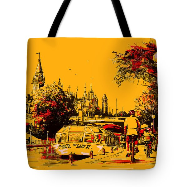 Vancouver Art 002 Tote Bag by Catf