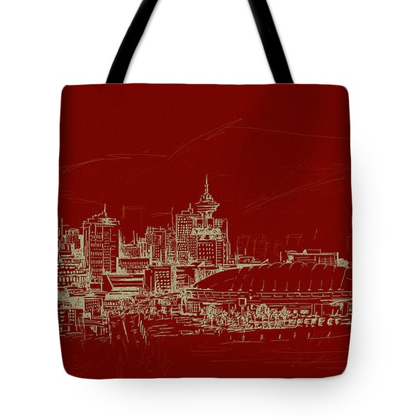 Vancouver Art 007 Tote Bag by Catf