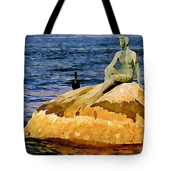 Vancouver Harbour Near Stanley Park Tote Bag by John Malone