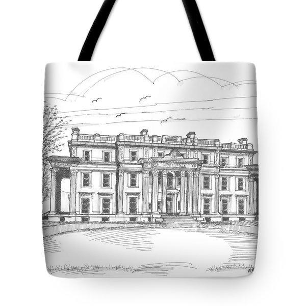 Vanderbilt Mansion Tote Bag by Richard Wambach