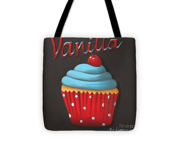 Vanilla Cupcake Tote Bag by Catherine Holman