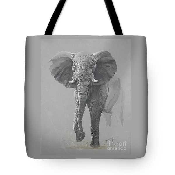 Vanishing Thunder Tote Bag by Suzanne Schaefer