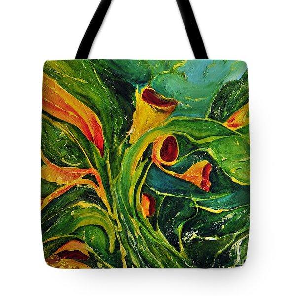 Variation  No.2 Tote Bag by Teresa Wegrzyn