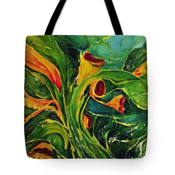 Variation  No.2 Tote Bag by Teresa Wegrzyn