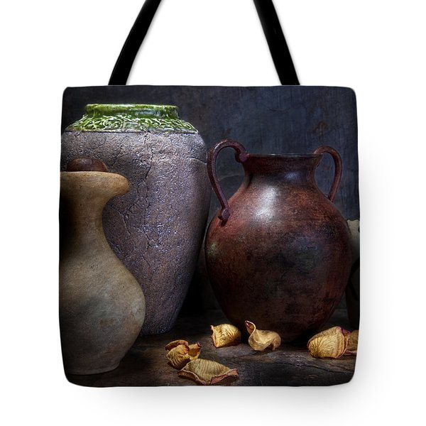 Vases And Urns Still Life Tote Bag by Tom Mc Nemar
