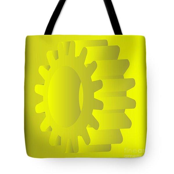 vector gears Tote Bag by Michal Boubin