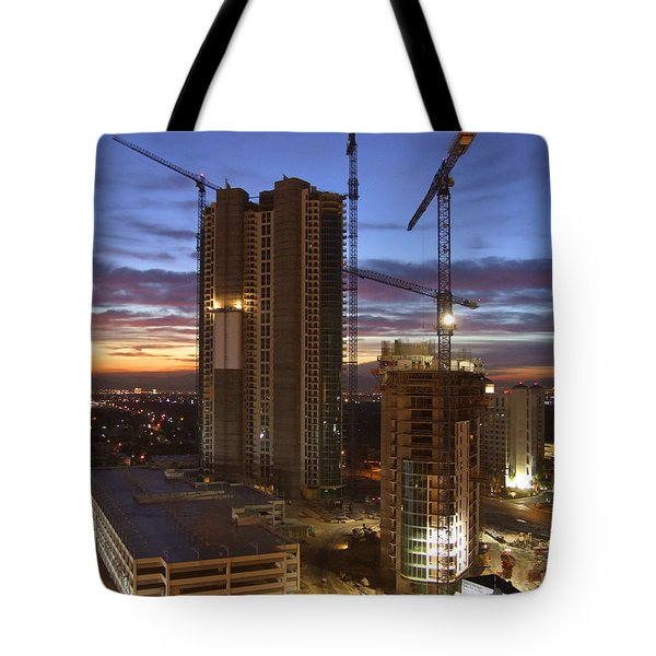 Vegas Expansion Tote Bag by Mike McGlothlen