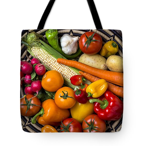 Vegetable Basket    Tote Bag by Garry Gay