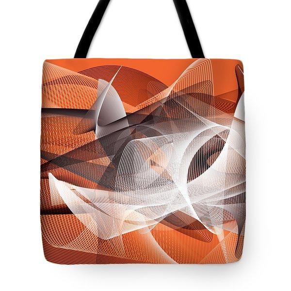 Velocity 3 Tote Bag by Angelina Vick