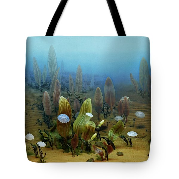 Vendian Marine Life Tote Bag by Chase Studio