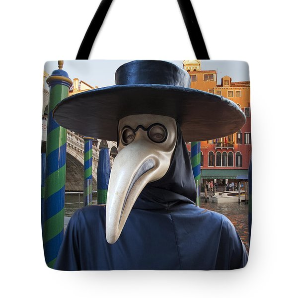 Venetian Face Mask G Tote Bag by Heiko Koehrer-Wagner