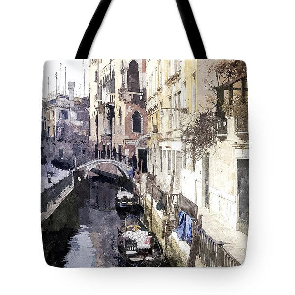 Venice 1 Tote Bag by Julie Woodhouse