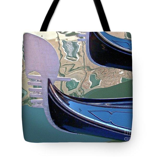 Venice Gondolas Tote Bag by Heiko Koehrer-Wagner