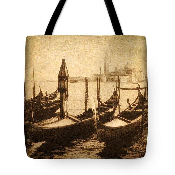 Venice Postcard Tote Bag by Jessica Jenney
